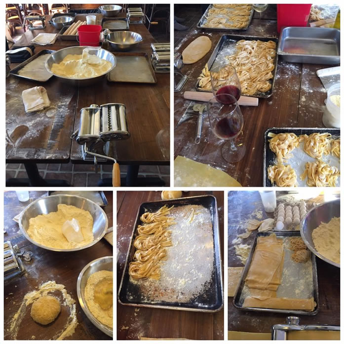 Pasta Classes at Vallini
